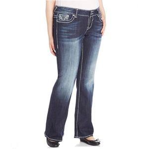 Vigoss Embellished Bootcut Jeans Sz 18